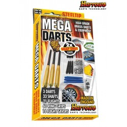 Fléchettes Harrows Mega Pack