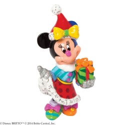 Minnie Mouse with Present - Mini Figurine