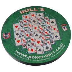 Cible crin Bull's Poker