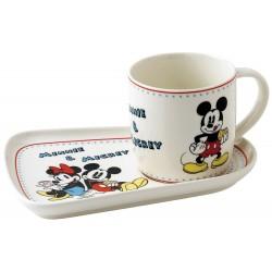 Set Petit Déjeuner Mickey et Minnie 17 cm