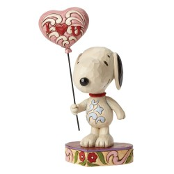 I Heart You - Snoopy With Heart Balloon
