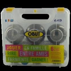 Set 6 boules de pétanque 'Obut détente'