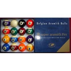 Set 16 billes Super Aramith Pro US 57,2mm