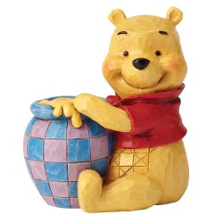 Winnie the Pooh with Honey Pot Mini Figurine