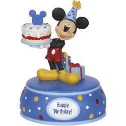 """Mickey Mouse With Cake"" Music Box"