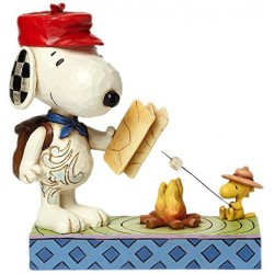 Campfire Friends (Snoopy and Woodstock)