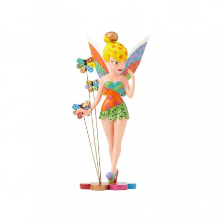 Tinker Bell on Flower Figurine
