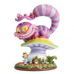 Miss Mindy 'Cheshire Cat & Alice Figurine'
