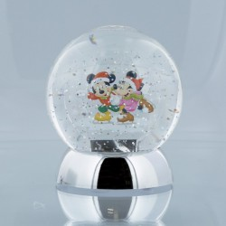 Mickey & Minnie Waterdazzler Globe