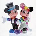 Mickey & Minnie Mouse Wedding Figurine