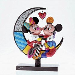 Mickey & Minnie Mouse on Moon Figurine NLE