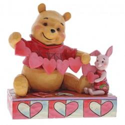 Handmade Valentines (Pooh & Piglet Figurine)