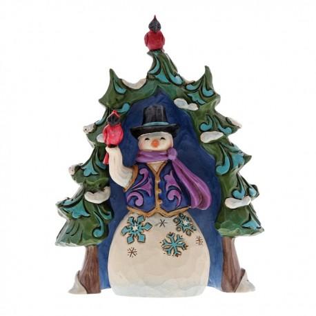 Snowman and Tree Mini Set