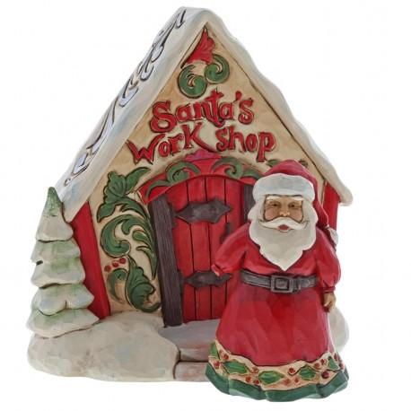 Santa and Toy Shop Mini Set