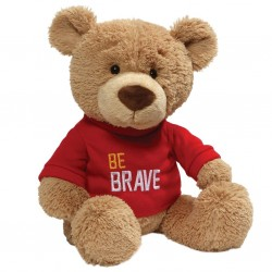 GUND  Be Brave Bear Soft Plush Toy 35cm