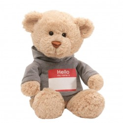 GUND My Name Is Soft Fur Teddy Bear 35cm