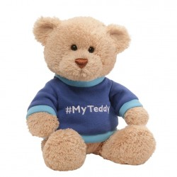 GUND My Teddy Blue Teddy Bear 35cm