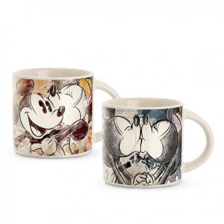 Set 2 Espresso À 90ml 'mickeyamp; Minnie' Tasses 5A4RLqj3