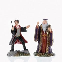 Harry and The Headmaster Figurine
