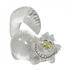 Clear Cheshire Cat Figurine