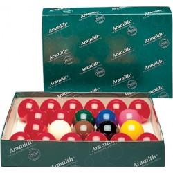 Set 22 billes snooker Aramith Premier 52,4mm
