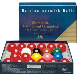 Set 22 billes Aramith Tournament Champion 52,4mm