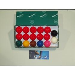 Set 17 billes snooker Aramith Premier 50,8mm