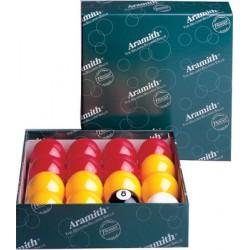 Set 16 billes pool anglais Aramith Premier 50,8mm