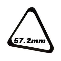 Triangle noir plastique pour américain