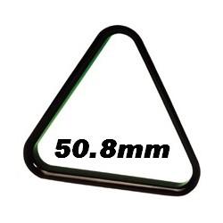 Triangle noir plastique pool anglais